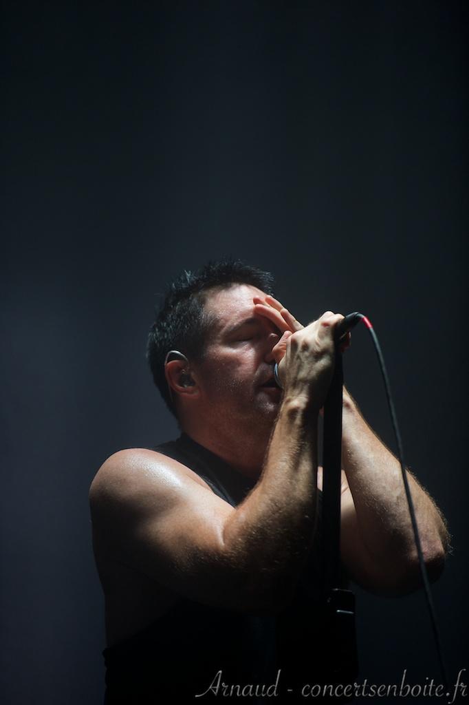 Trent Reznor Paris 2014
