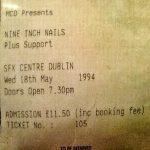 Dublin – May 18 1994