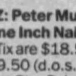 New York – April 11 1990