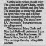 Norfolk – March 01 1990