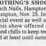 Hampton – November 25 1994