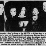 Milwaukee – January 18 1995