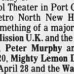 Port Chester – April 20 1990