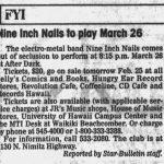 Honolulu – March 26 1994