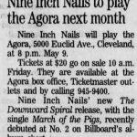Cleveland – May 09 1994