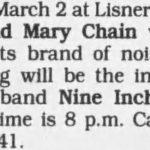 Washington DC – March 02 1990