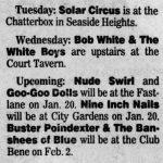 Trenton – January 20 1991