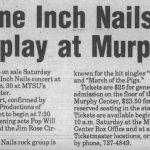 Murfreesboro – January 30 1995