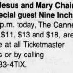 Nashville – February 23 1990