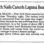 Laguna Beach – May 24 1990