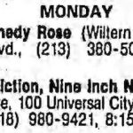Los Angeles – February 04 1991