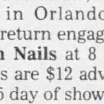 Orlando – January 12 1991