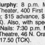 Orlando – March 24 1990