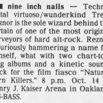 Oakland – October 14 1994