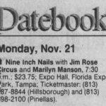 Tampa – November 21 1994
