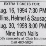 Cleveland – August 30 1994