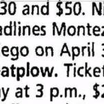 San Diego – April 30 1994