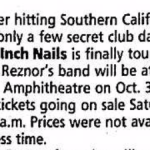 Los Angeles – October 3 1994