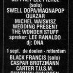 Rotterdam – September 01 1991