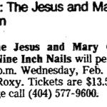 Atlanta – February 21 1990