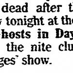 Cleveland – October 21 1988