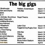 Canberra – April 05 1994
