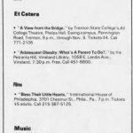 Philadelphia – November 01 1988