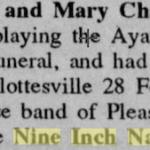 Charlottesville – February 28 1990
