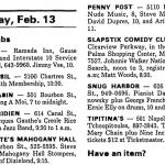 New Orleans – February 13 1990