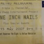 Melbourne – May 15 2007