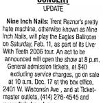 Milwaukee – February 11 2006