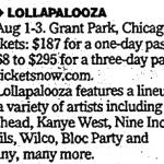 Chicago – August 03 2008