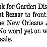 New Orleans – May 25 2000
