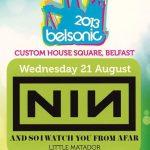 Belfast – August 21 2013