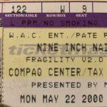 Houston – May 22 2000