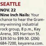 Seattle – November 22 2013