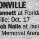 Jacksonville – October 29 2008