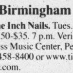 Birmingham – June 06 2006
