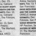 Sacramento – December 12 2008