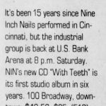Cincinnatti – February 25 2006