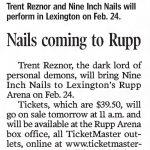 Lexington – February 24 2006