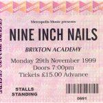 London – November 29 1999
