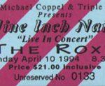 Brisbane – April 10 1994