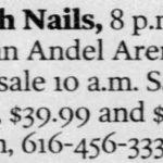 Grand Rapids – April 25 2000