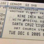 Santa Cruz – December 06 2005