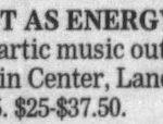 Columbus – April 15 2000