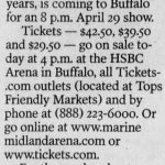 Buffalo – April 29 2000