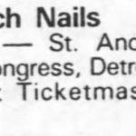 Detroit – January 27 1990
