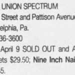 Philadelphia – May 06 2000