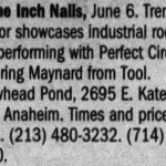 Anaheim – June 06 2000